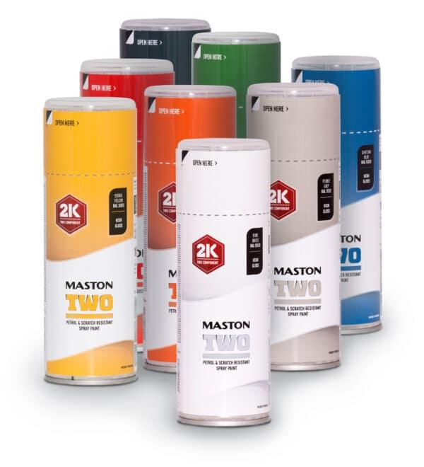 Maston Two 2K - 400ml Spraydose