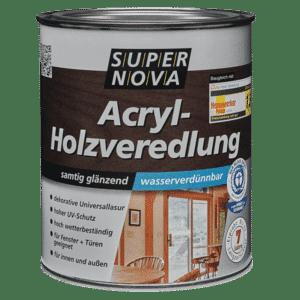 Acryl Holzlasur wasserbasierend Super Nova