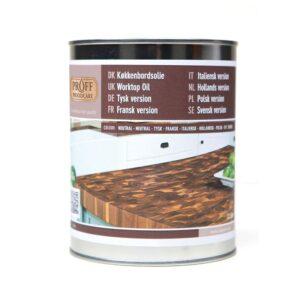 Arbeitsplattenöl Natur Proff Woodcare 1 Liter
