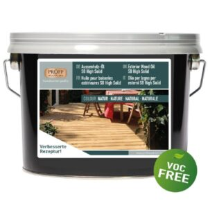 Aussenholz Öl SB High Solid Proff Woodcare 25 Liter