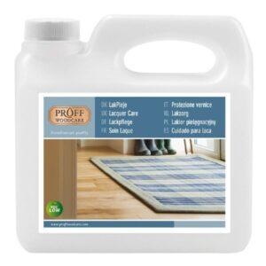 Lackpflege für versiegelte Holzböden 1 Liter Proff Woodcare