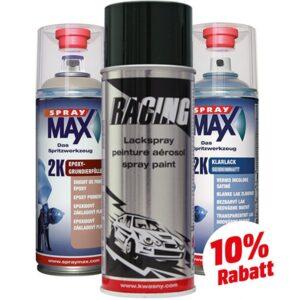 Premium Felgenspray Komplett Set Kwasny 400ml Spraydosen